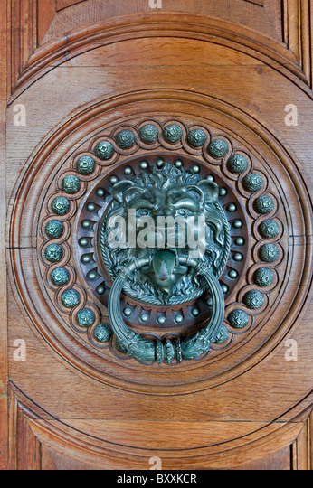 Ornate Door Knocker   Stock Image