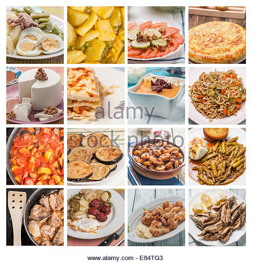Spanish omelette salad stock photos spanish omelette for Fish and vegetable recipes
