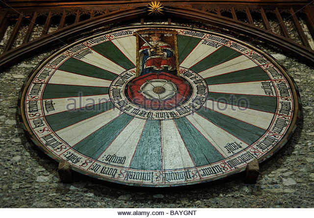 Winchester castle great hall stock photos winchester castle great hall stock images alamy - Round table winchester cathedral ...