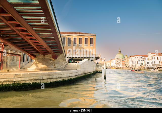 Modern Bridge In Venice Stock Photos Modern Bridge In