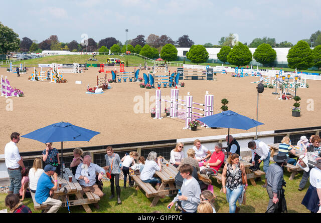 Frogmore Show Jumping Arena At Royal Windsor Horse Home Park