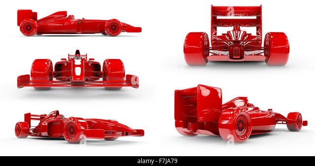 Formula Car Cut Out Stock Images Pictures Alamy