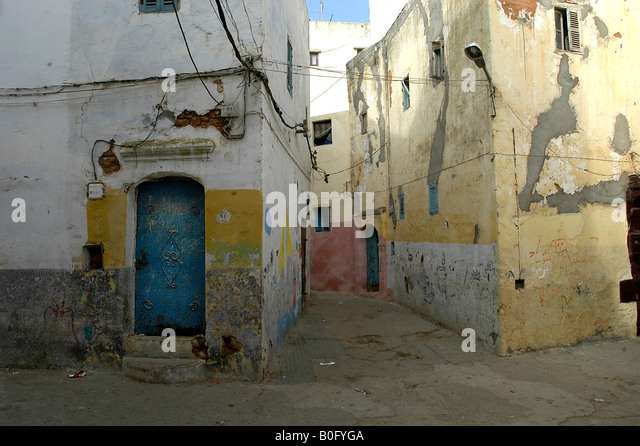 Larache stock photos larache stock images alamy for Architecture marocaine