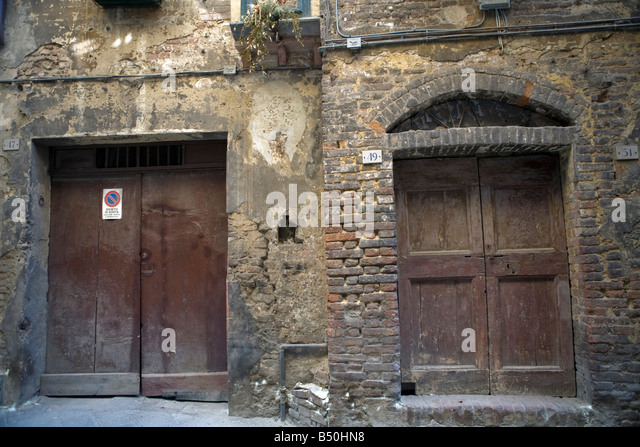 Two car garage door stock photos two car garage door Italian garage doors