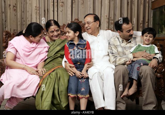 Joint Family India Stock Photos Joint Family India Stock