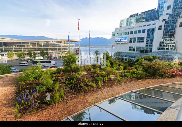 roof garden design hotel. one of two roof gardens at the fairmont vancouver waterfront hotel in british columbia garden design