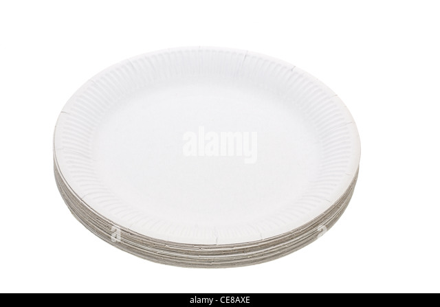 stack of white plates stock photos stack of white plates. Black Bedroom Furniture Sets. Home Design Ideas