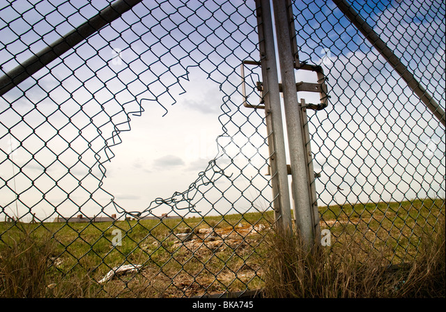 Broken Fence Stock Photos Amp Broken Fence Stock Images Alamy