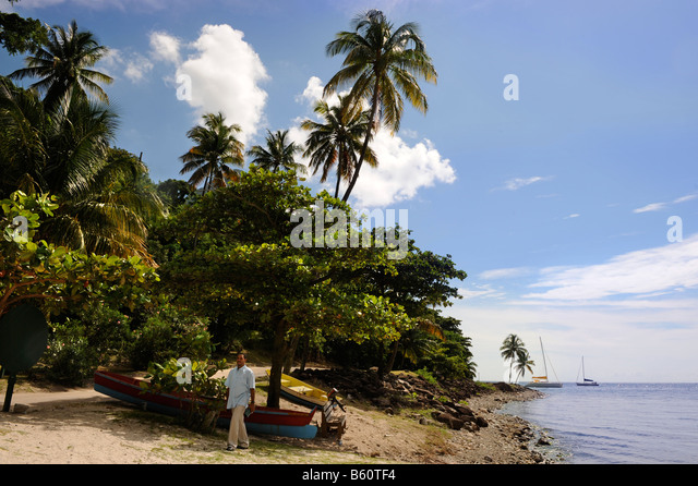 Forbidden Beach Soufriere Saint Lucia West Indies