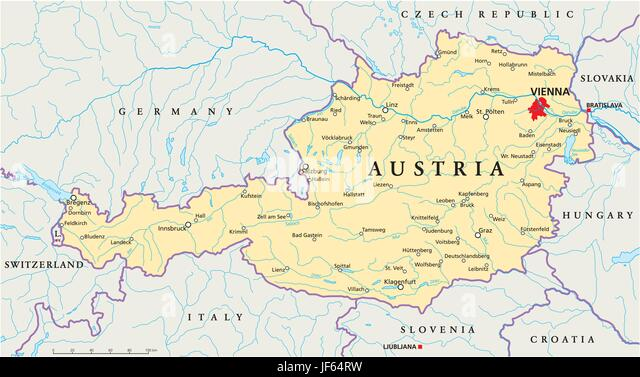Vienna map stock photos vienna map stock images page 3 alamy vienna austria danube map atlas map of the world travel gumiabroncs Choice Image