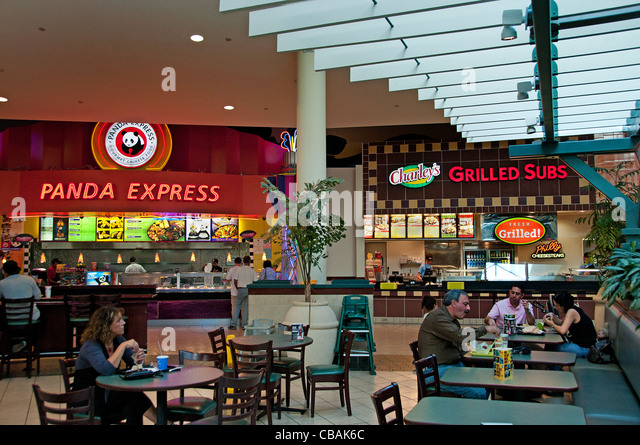 Fast Food Food Court Downtown Toronto