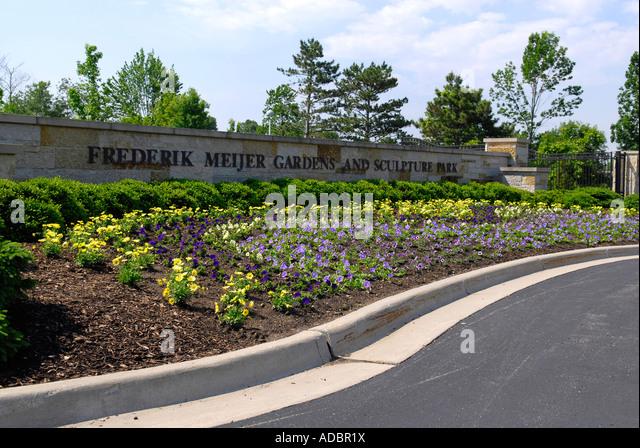 Frederik Meijer Gardens Grand Rapids Michigan Mi Stock Photos Frederik Meijer Gardens Grand