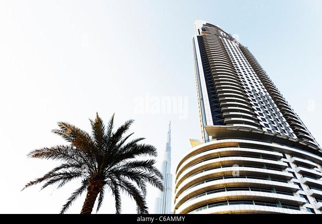 Luxury Hotel The Address And Burj Khalifa Tallest Building In World