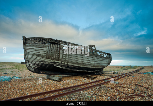 Derelict Boat Stock Photos & Derelict Boat Stock Images - Alamy