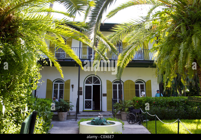 Hemingway House Key West Stock Photos Hemingway House