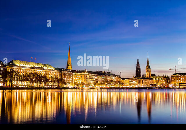 binnenalster stock photos binnenalster stock images alamy. Black Bedroom Furniture Sets. Home Design Ideas