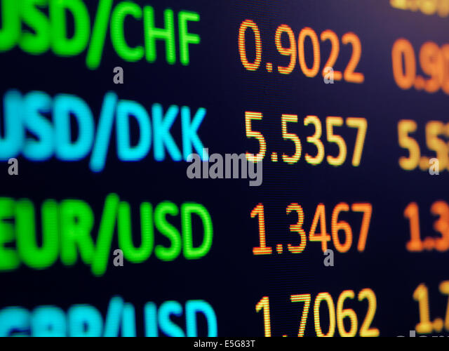 E forex currency exchange rate