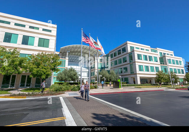 Apple headquarter stock photos apple headquarter stock images alamy - Haier america corporate office ...