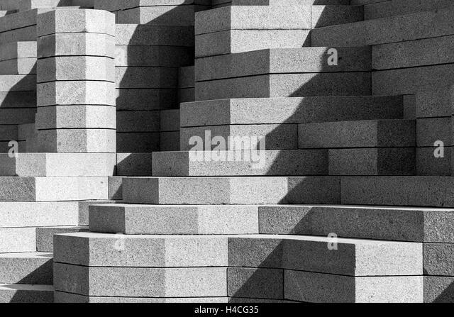 modern concrete sculpture stock photos modern concrete sculpture stock images alamy. Black Bedroom Furniture Sets. Home Design Ideas