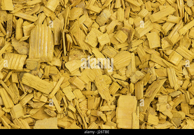 Decorative Wood Chips ~ Wood chip garden stock photos
