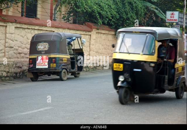 Auto Rickshaws Kerala Stock Photos & Auto Rickshaws Kerala
