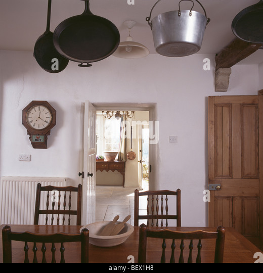 Kitchen Monochromatic Doorways Stock Photos & Kitchen
