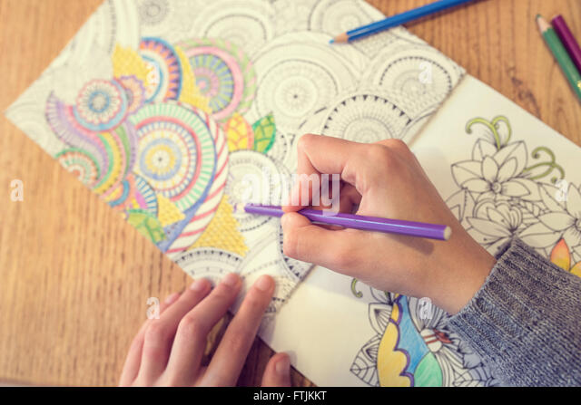 paint coloring book stock image - Coloring Book Paper Stock