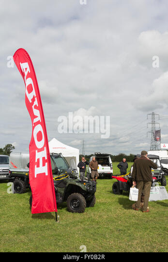 Trade Stands Chatsworth Country Fair : Armer stock photos images alamy
