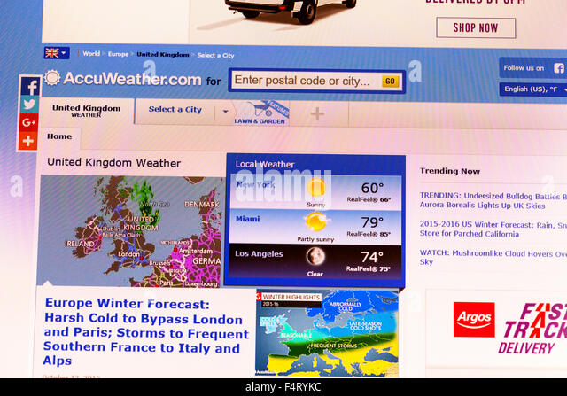 Accuweather Stock Photos Accuweather Stock Images Alamy - Go to accu weather