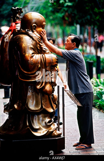 Supposed stock photos supposed stock images alamy for Does buddha bring good luck