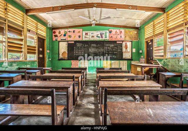 Classroom In Elementary School Ghana