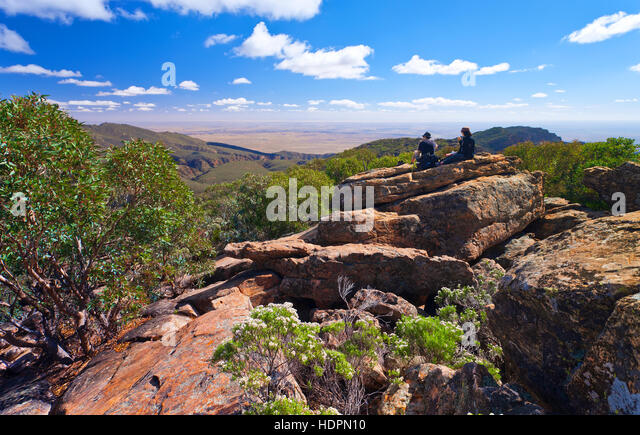 Wilpena pound outback landscape landscapes stock photos for Landscapers adelaide south