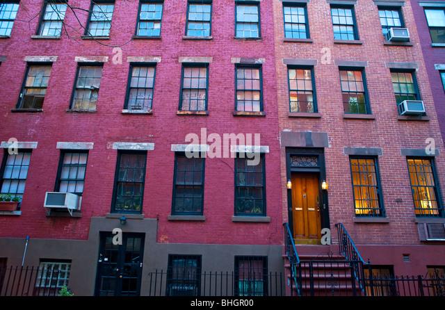 Brick Apartment Buildings Stock Photos & Brick Apartment Buildings ...