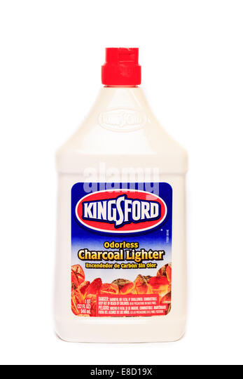 how to make charcoal lighter fluid