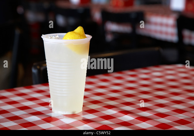 Soft drink plastic cup stock photos soft drink plastic for Table 52 townsville