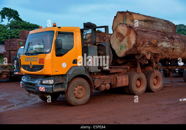 Logs and transport stock photos