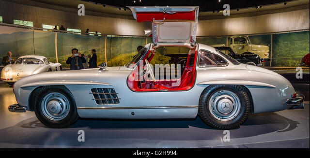 stuttgart germany march 19 2016 sports car mercedes benz 300 sl