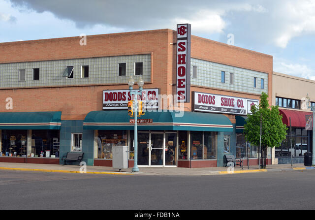 Downtown Hickory Shoe Store