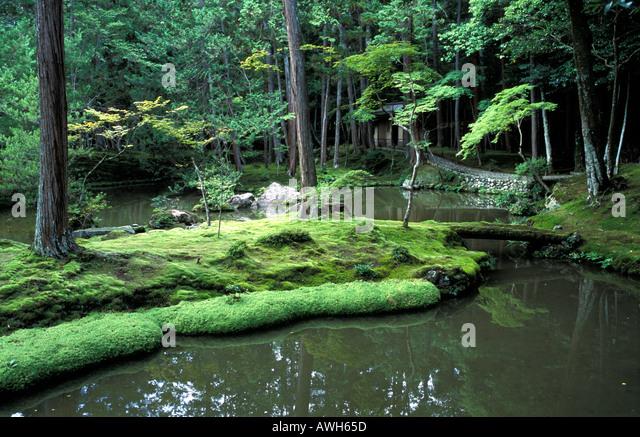 Saiho stock photos saiho stock images alamy - Moosgarten kyoto ...