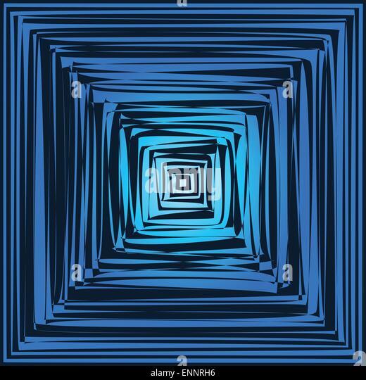 Optical illusion art stock photos optical illusion art for Geometric illusion art