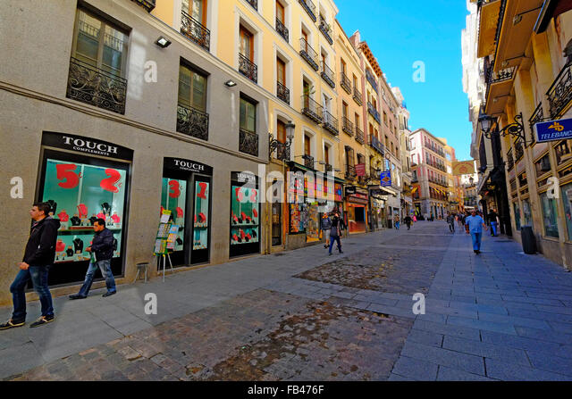 Ca del sol stock photos ca del sol stock images alamy for Calle sol madrid