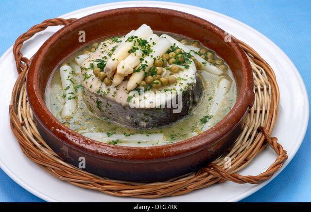 Basque hake stock photos basque hake stock images alamy for Lomos de merluza en salsa verde