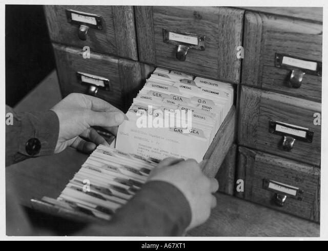 Card Filing System Stock Photos & Card Filing System Stock Images ...