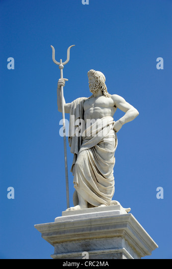 Poseidon statue stock photos poseidon statue stock images alamy - Poseidon statue greece ...