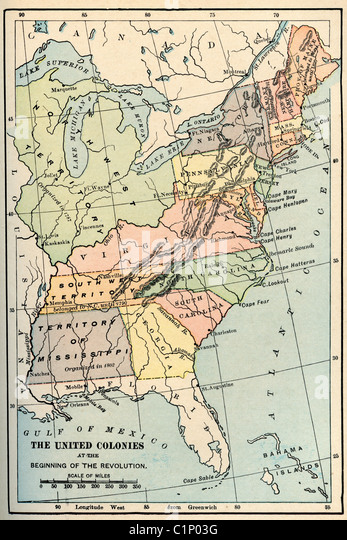 Eastern United States Map Stock Photos Eastern United States Map - Us map 1865