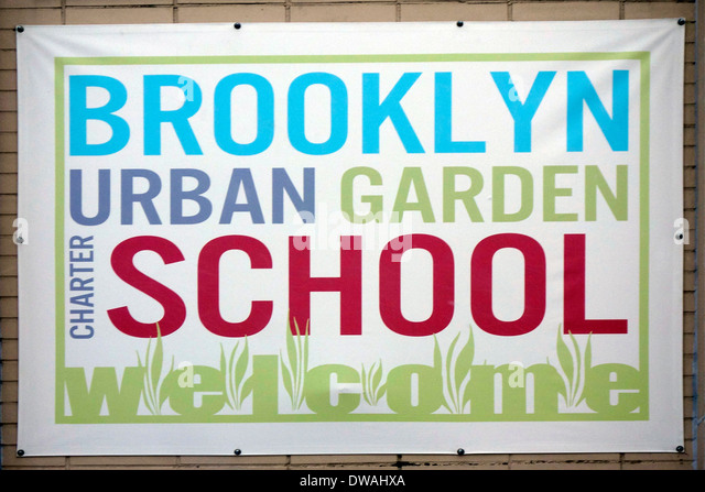 Charter school stock photos charter school stock images alamy for Brooklyn urban garden charter school