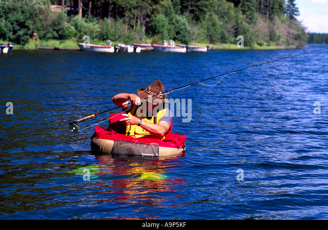Pacific fisher north america stock photos pacific for Belly boat fishing