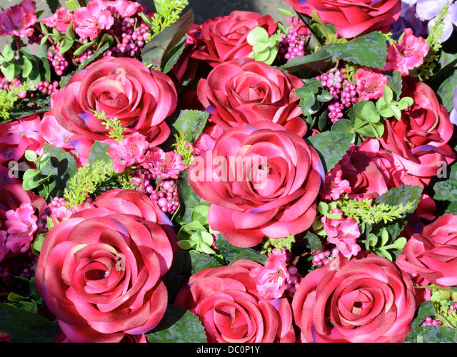 fake flowers for sale stock photos fake flowers for sale stock images alamy. Black Bedroom Furniture Sets. Home Design Ideas