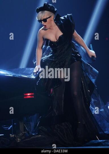 Lady Gaga Us Singer In Stock Photos & Lady Gaga Us Singer ...