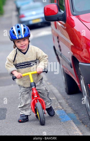 learning to ride a bike to learning to drive a car Here's the secret to learning to ride a bike: just keep trying it, you'll get it soon  wait, don't  be aware of cars, pedestrians, and other bikes.